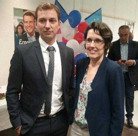 Alexandre Freschi et Stéphanie Orisé-Briéda