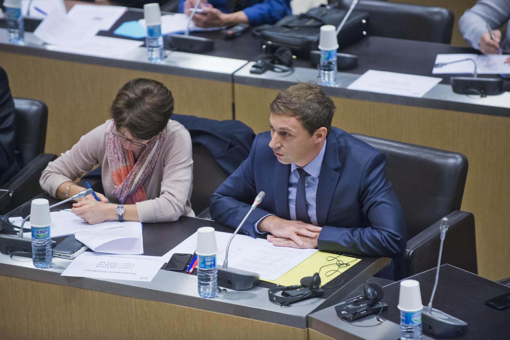 Alexandre Freschi à l'Assemblée nationale
