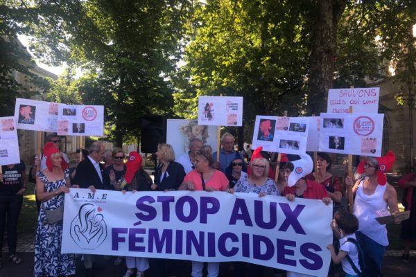 Manifestation pour dénoncer les violences faites aux femmes du 13 juillet 2019 à Marmande