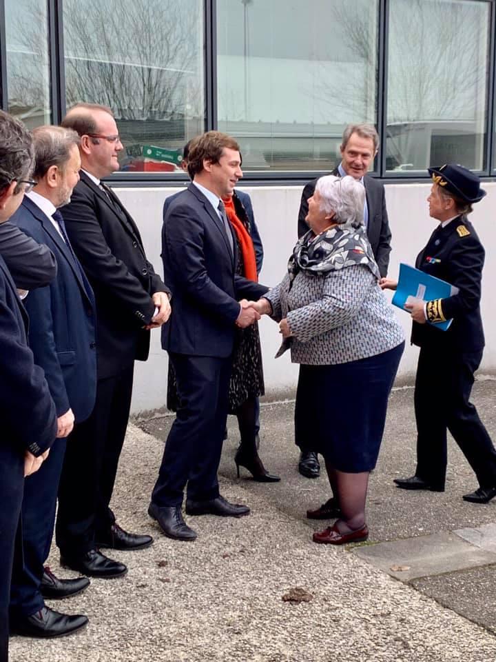 Visite de Jacqueline Gourault, Ministre de la cohésion des territoires